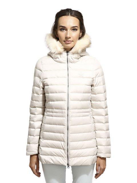 Куртка кремового цвета Adidas 3712023