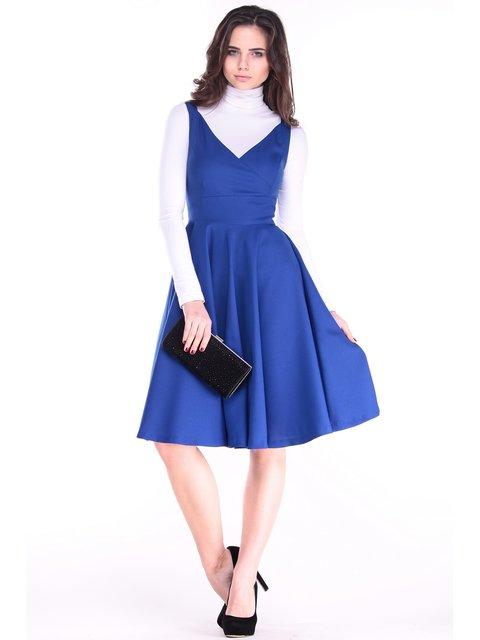 Сукня кольору електрик Rebecca Tatti 3732007