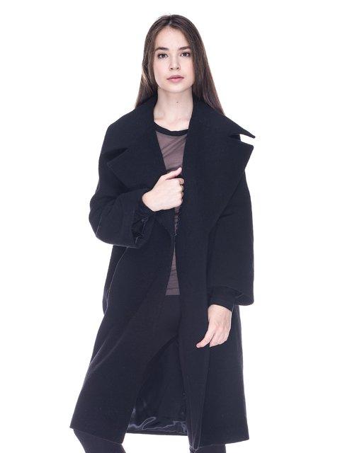 Пальто черное Dolcedonna 3610011