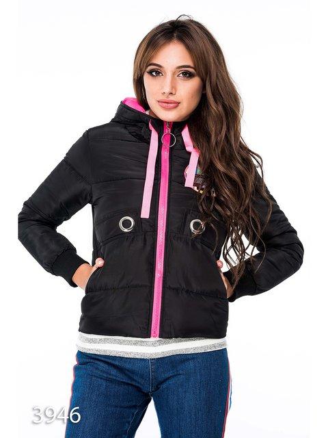 Куртка чорна Magnet 3688301