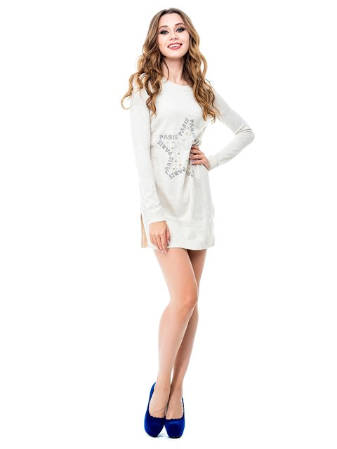 Платье бежевое Magnet 3688403
