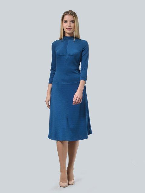 Платье цвета морской волны LILA KASS 3735974