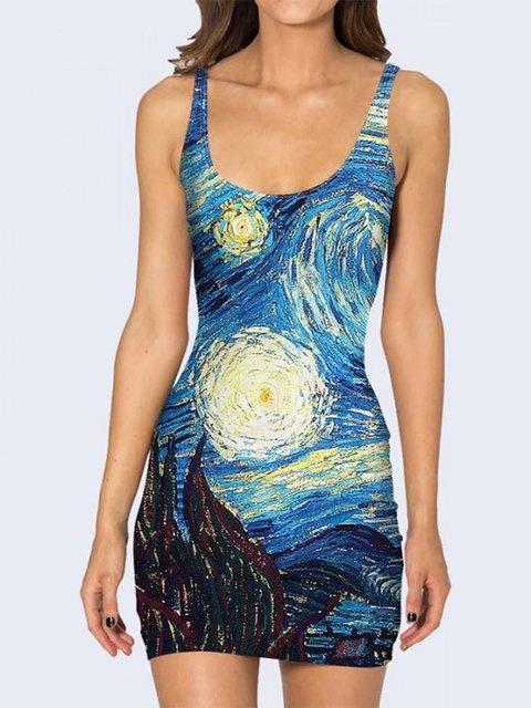 Платье с принтом Vilno 3736945