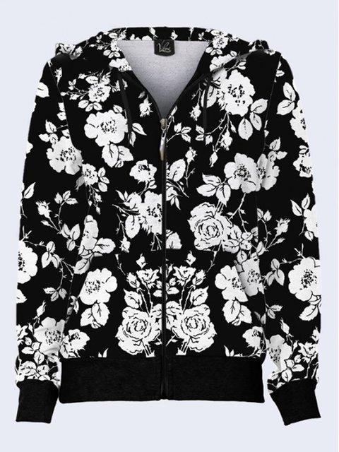 Толстовка с цветочным принтом Vilno 3737074