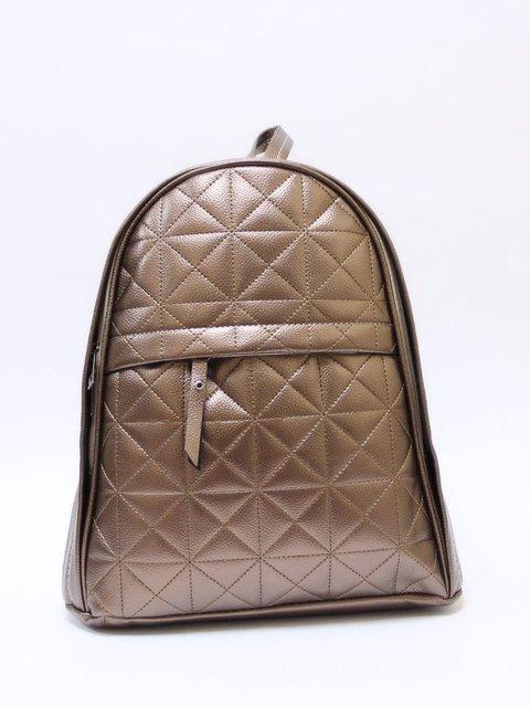 Рюкзак золотистий Bags Bar 3704419