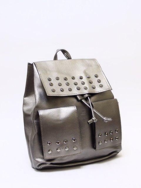 Рюкзак сріблястий Bags Bar 3704425