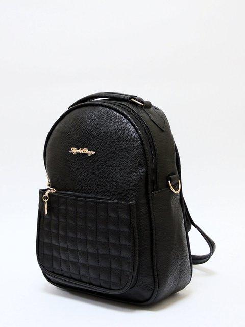 Рюкзак чорний Bags Bar 3704475