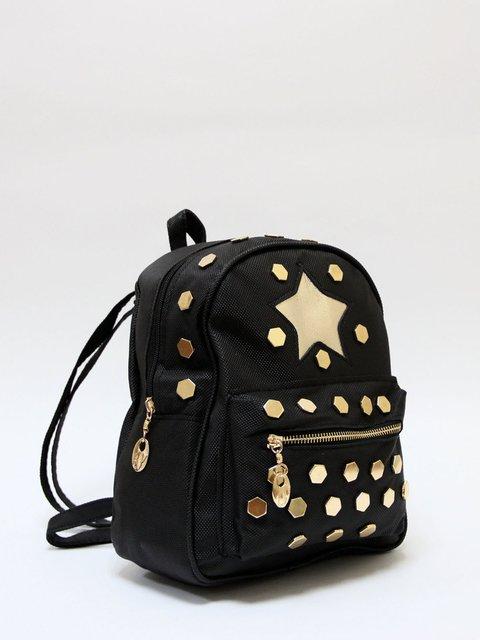 Рюкзак чорний Bags Bar 3704487
