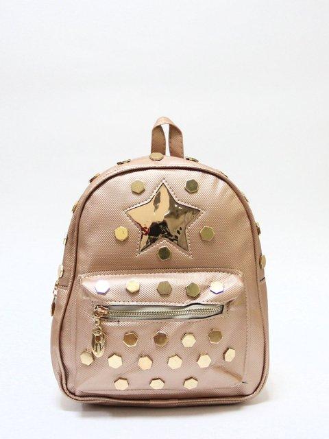Рюкзак кольору пудри Bags Bar 3704488