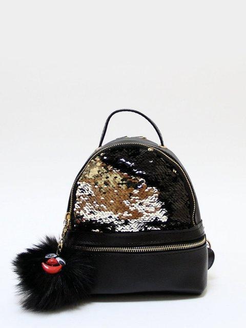 Рюкзак-міні чорний Bags Bar 3704501