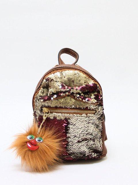 Рюкзак-міні коричневий Bags Bar 3704507