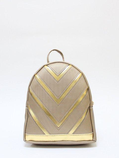 Рюкзак золотистий Bags Bar 3704529