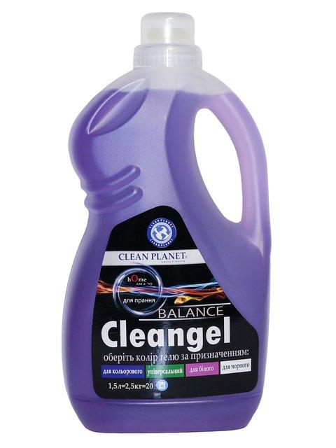 Гель для стирки для белых тканей Cleangel White (1500 мл) Clean Planet 3744663