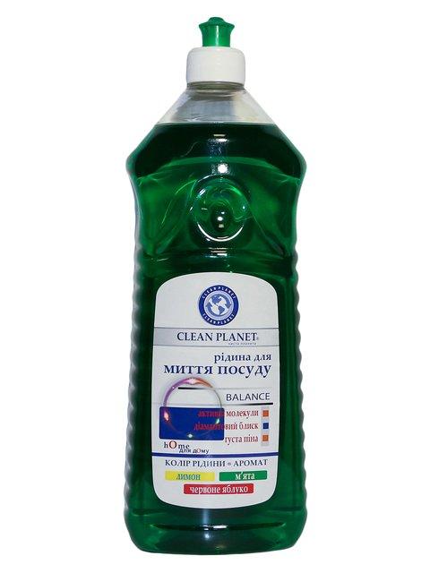 Жидкость для мытья посуды «Мята» (1000 мл) Clean Planet 3744624