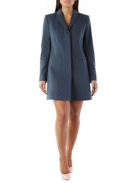 Пальто синє Maria Intscher 3755970