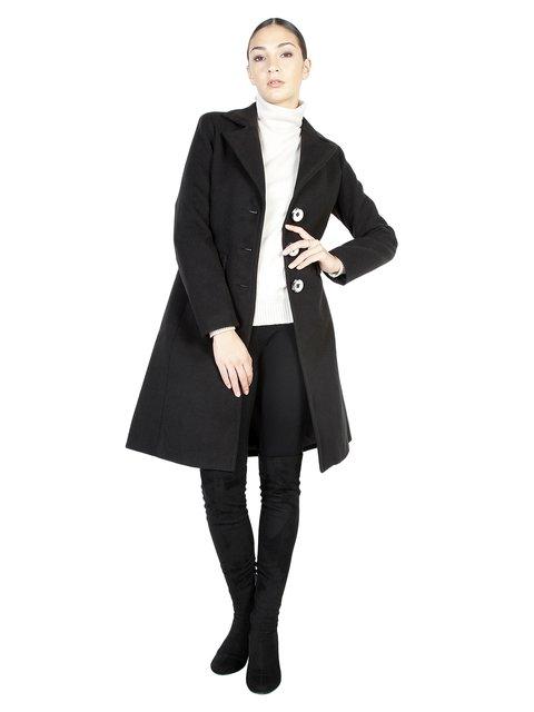Пальто чорне Fontana 2.0 3749082