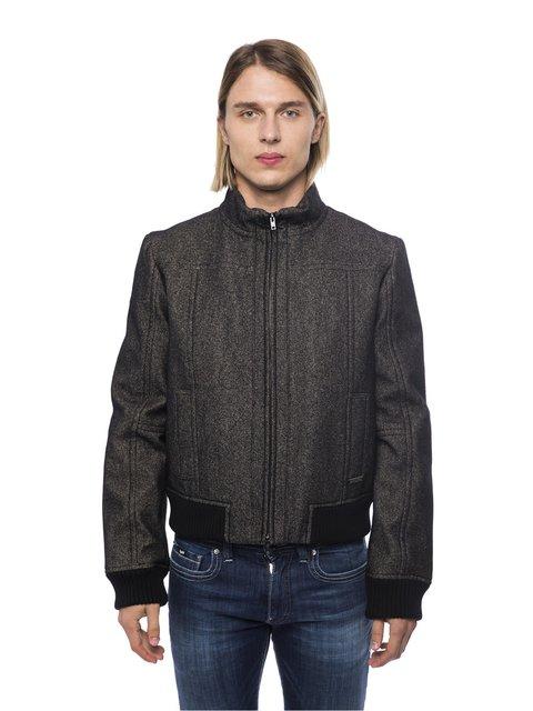 Куртка чорна Trussardi 3753360
