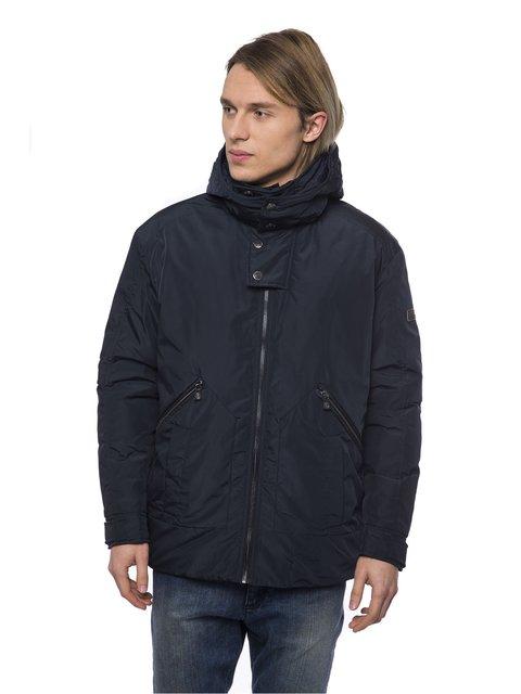 Куртка темно-синя Trussardi 3753369