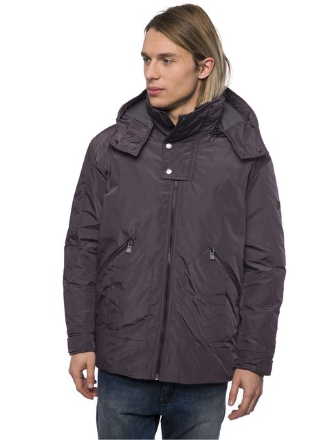 Куртка сіра Trussardi 3753371