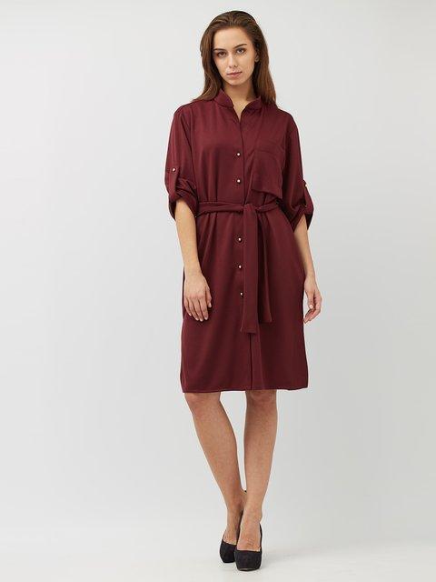 Платье бордовое Alana 3766063