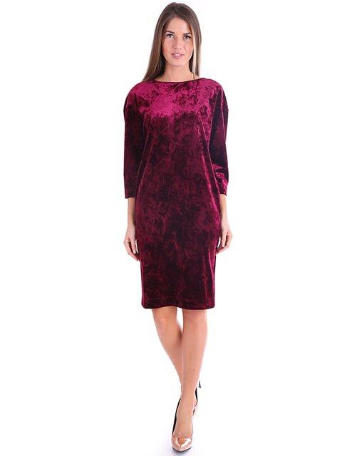 Сукня бордова Jet 3766116
