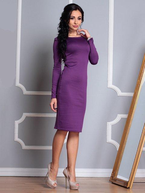 Сукня темно-фіалкового кольору Laura Bettini 3767783