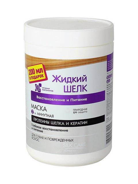 Маска для сухих и поврежденных волос «Восстановление и питание» (1000 мл) Dr.Sante 1653796