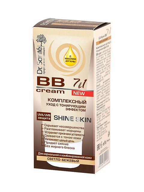 /bb-krem-shine-skin-svetlo-bezhevyy-dlya-normalnoy-i-kombinirovannoy-kozhi-50-ml-dr-sante-1859076