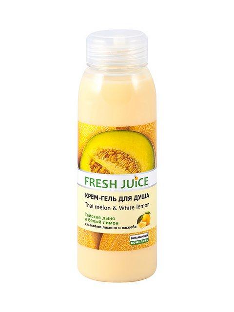 Крем-гель для душу Thai melon & White lemon (300 мл) Fresh Juice 1925470