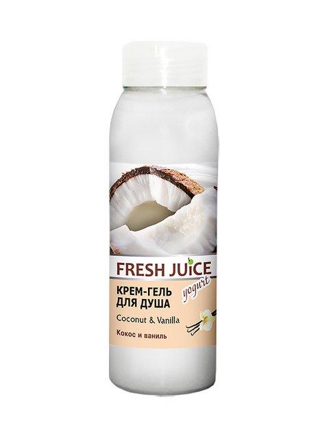 Крем-гель для душа Coconut & Vanilla (300 мл) Fresh Juice 3746607