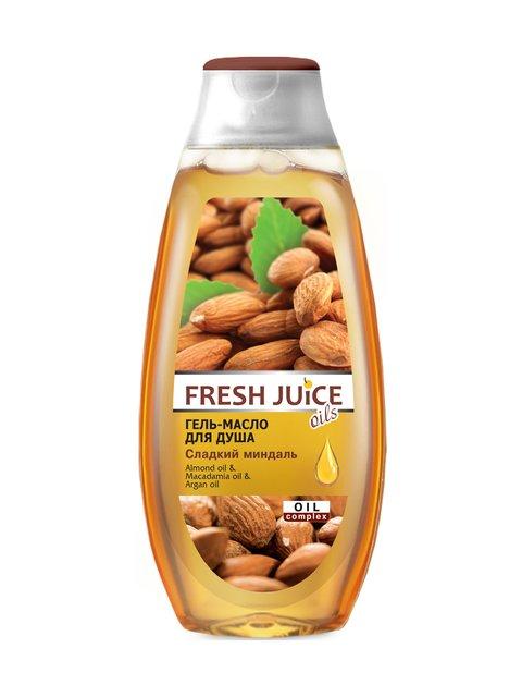 Гель-олія для душа Sweet Almond (400 мл) Fresh Juice 3746611