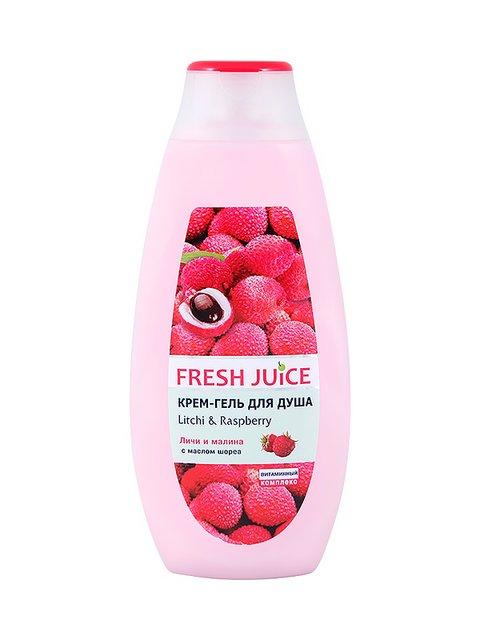 Крем-гель для душа Litchi & Raspberry (400 мл) Fresh Juice 3746616