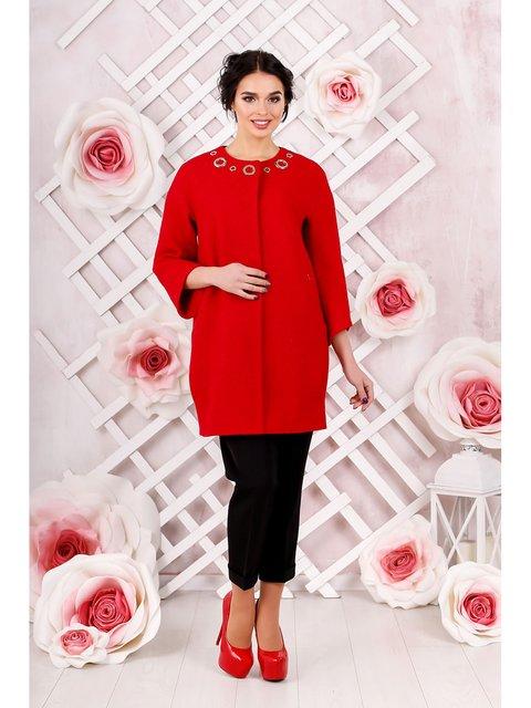 Пальто червоне Favoritti 3774638