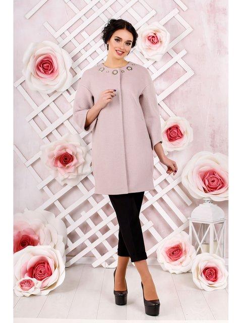 Пальто розовое Favoritti 3774676