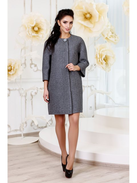 Пальто серое Favoritti 3774711