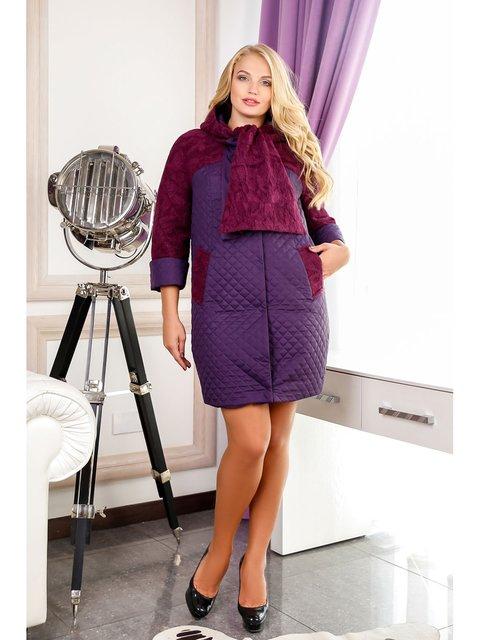 Пальто фиолетовое Favoritti 3774729
