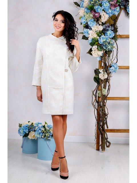 Пальто белое Favoritti 3774775