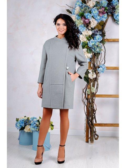 Пальто оливкового цвета Favoritti 3774776