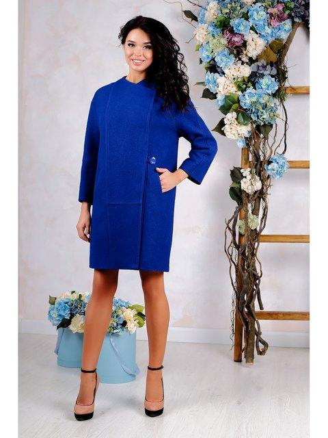 Пальто синее Favoritti 3774792
