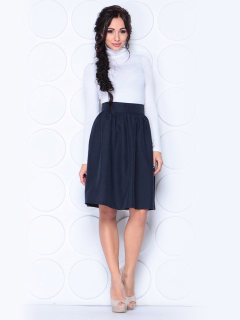 Юбка черно-синего цвета Laura Bettini 3779763