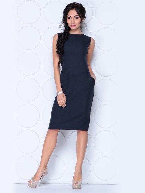 Сукня чорно-синього кольору Laura Bettini 3779764