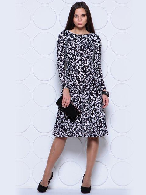 Платье в принт Laura Bettini 3779774