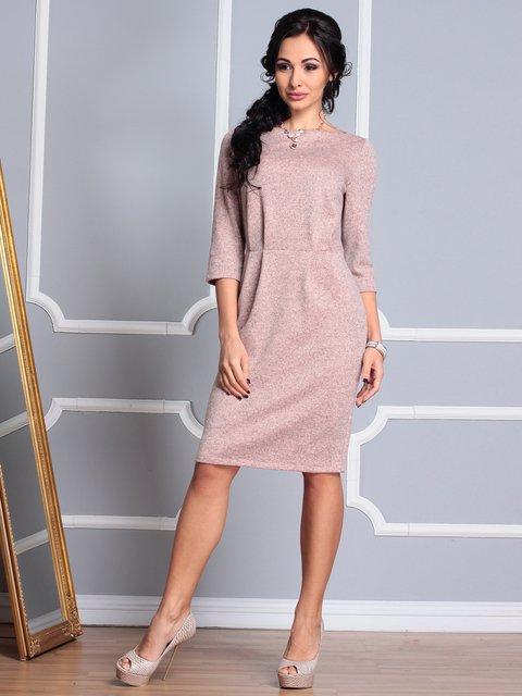 Платье цвета пудры Laura Bettini 3779781