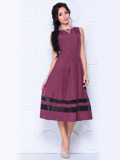 Платье сливовое Dioni 3779789