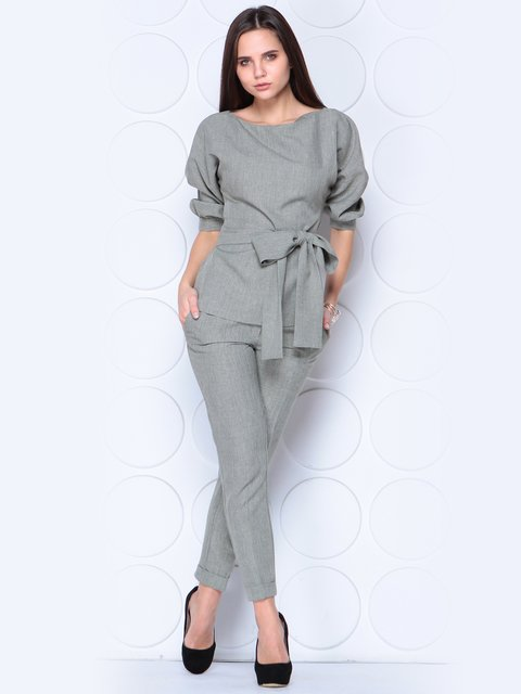 Костюм: блуза и брюки Rebecca Tatti 3779796