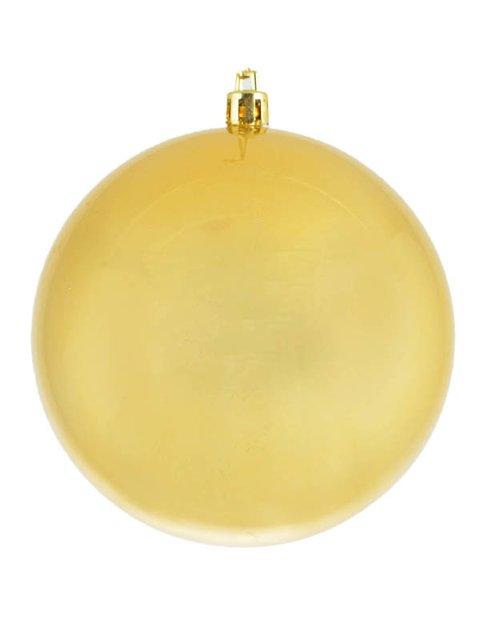 Куля золотиста з перламутром (10 см) Новогодько 3782797