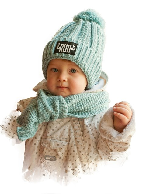 Комплект: шапка и шарф Bilamila 3765520