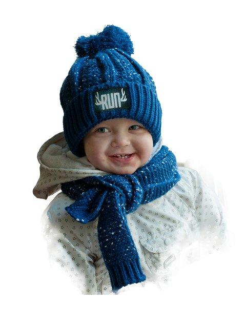 Комплект: шапка и шарф Bilamila 3765521