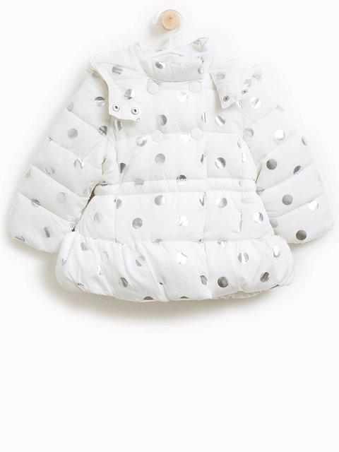 Куртка біла в принт Oviesse 3723179