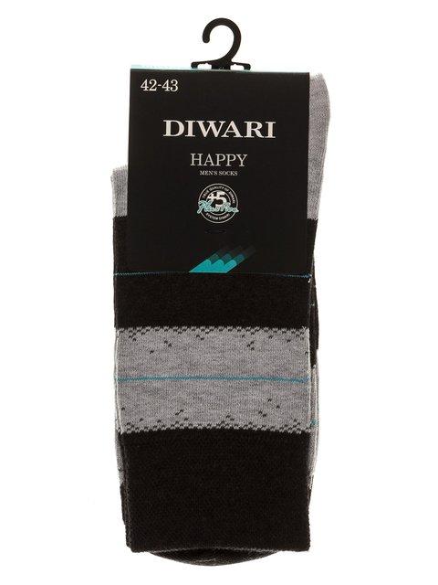 Шкарпетки чорно-сірі DIWARI 3749984